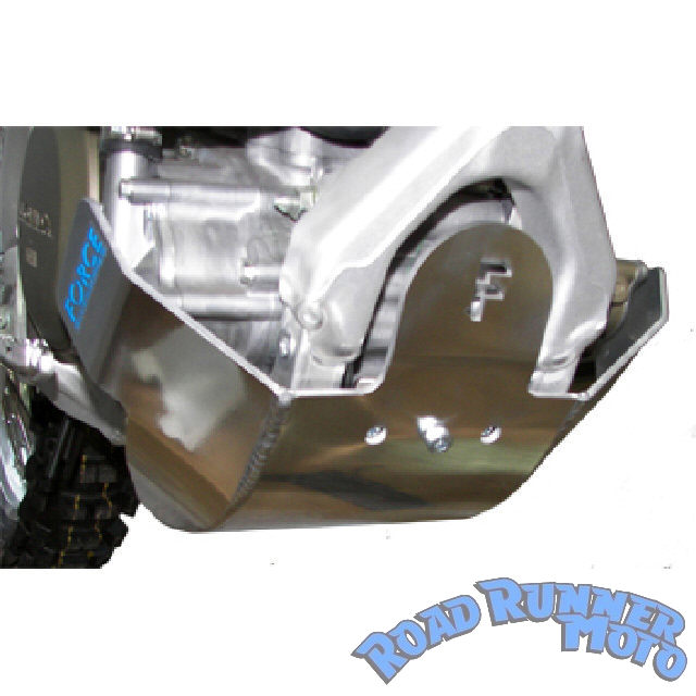 Force-bash-plate-bashplate-silver-Honda-CR-CRF-450-R-4st-2005-2008